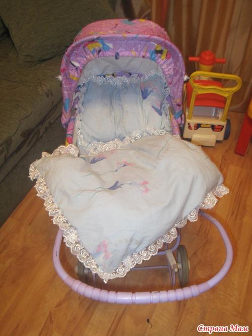 Комплект в коляску для новорожденного сшить