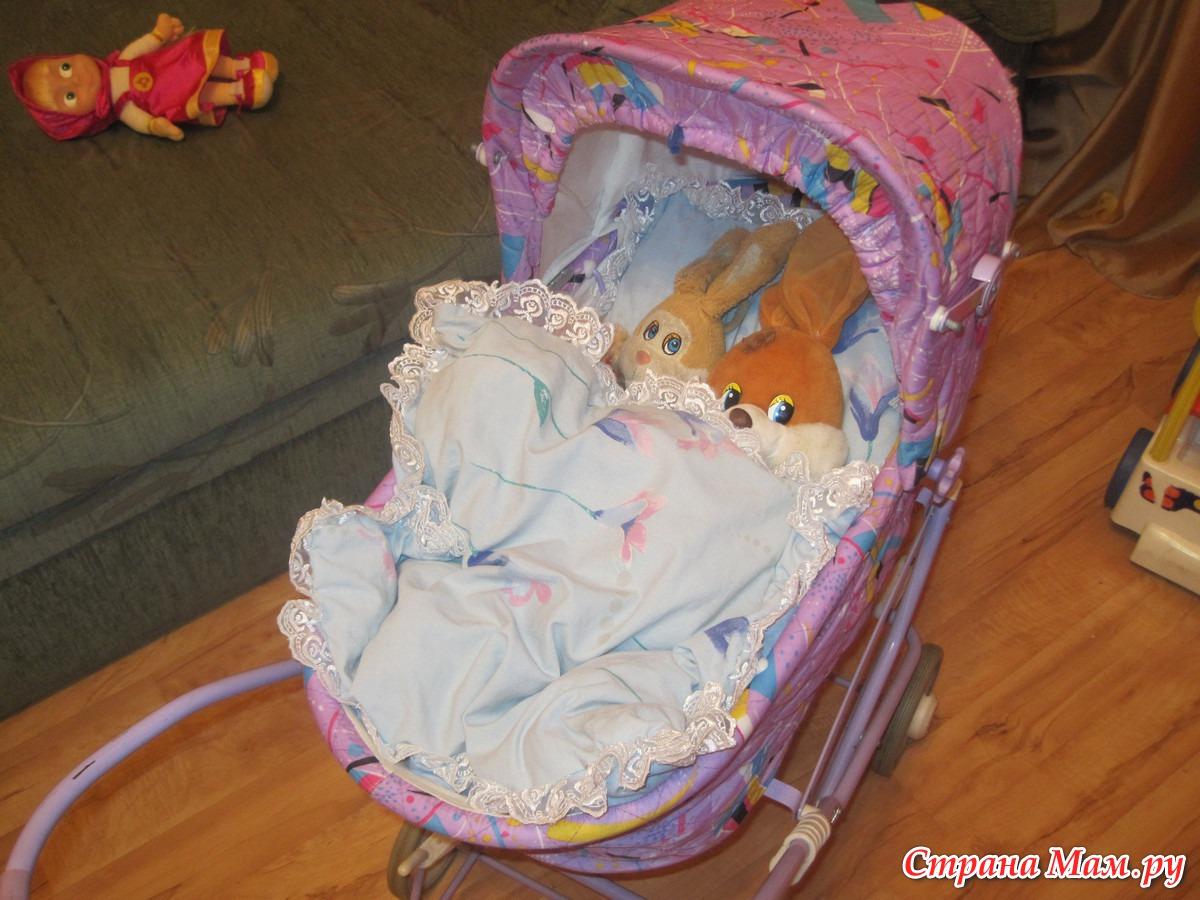 Новая жизнь кукольной коляски как перешить сиденье 61