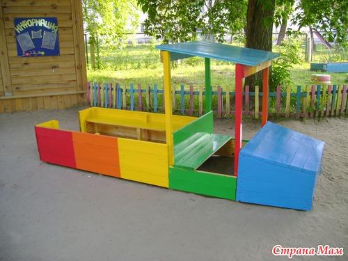 Поделки игровой площадки в детском саду своими руками
