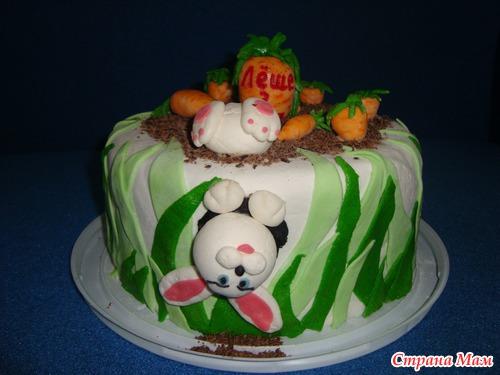 Тортики на 3 годика с фото
