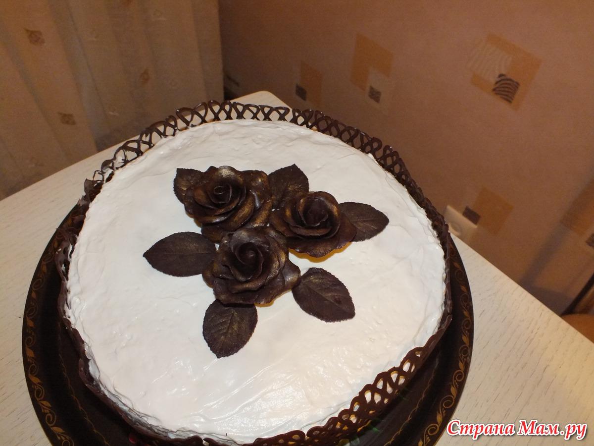Как украсить торт узорами из шоколада фото