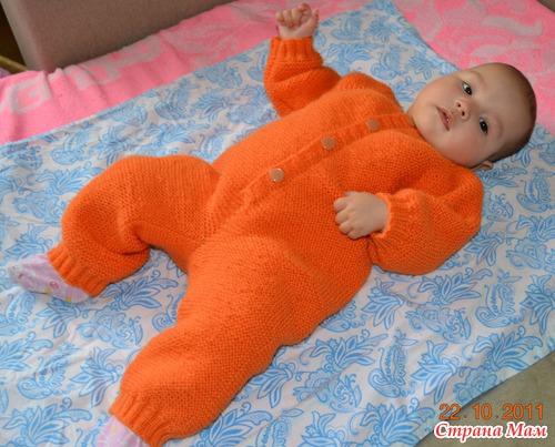 Связать для новорожденного пошаговая