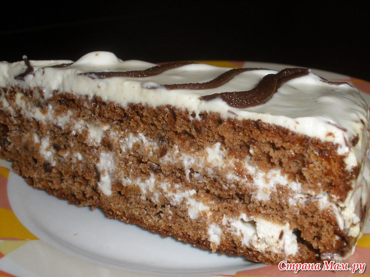 Торт каро рецепт с фото пошагово