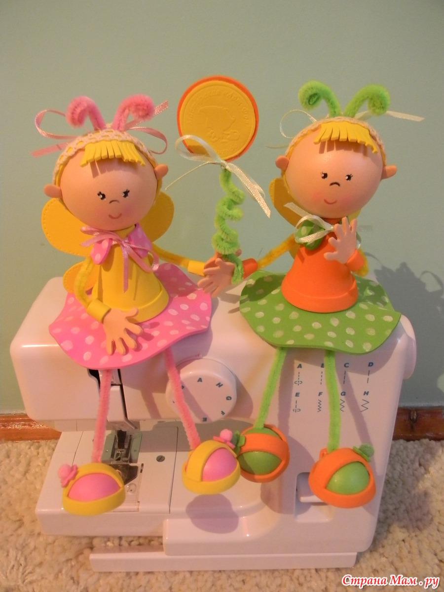 Игрушки для детей из фоамирана своими руками