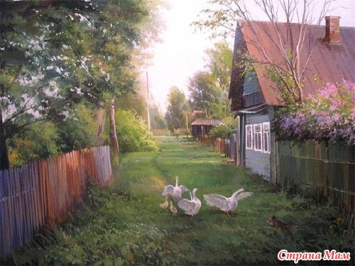 Деревенские пейзажи обои на рабочий стол 4