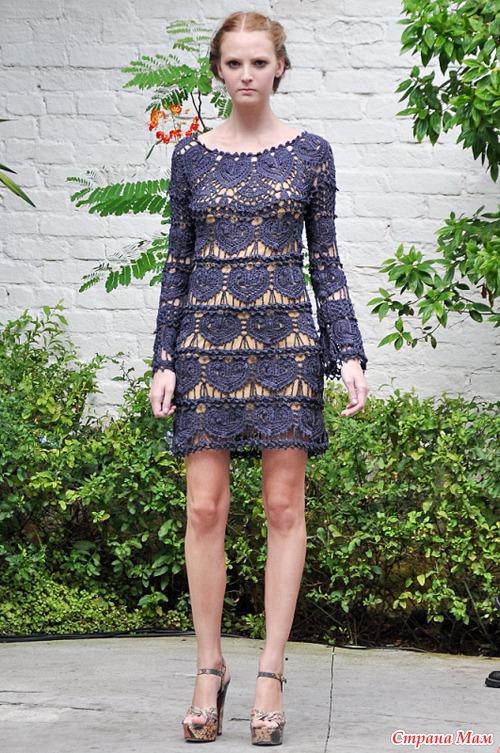Сердечное платье монторо