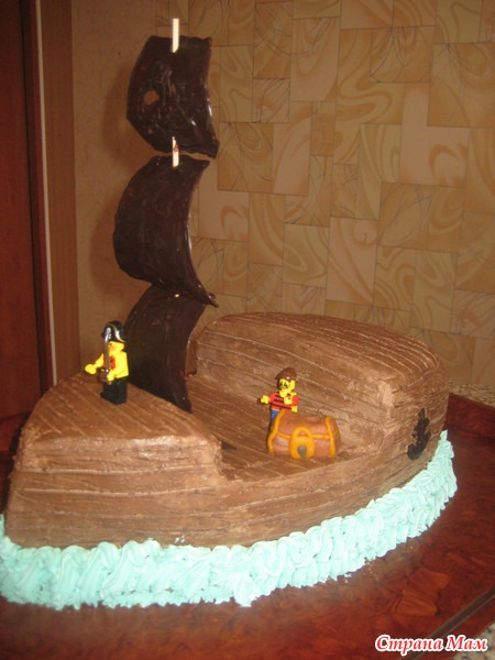 Вот такие получились торты