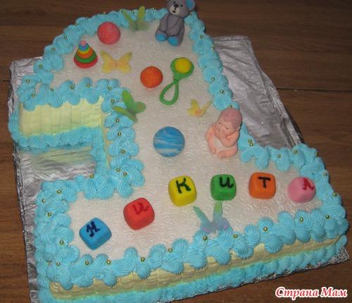 Фото тортов единичек для детей