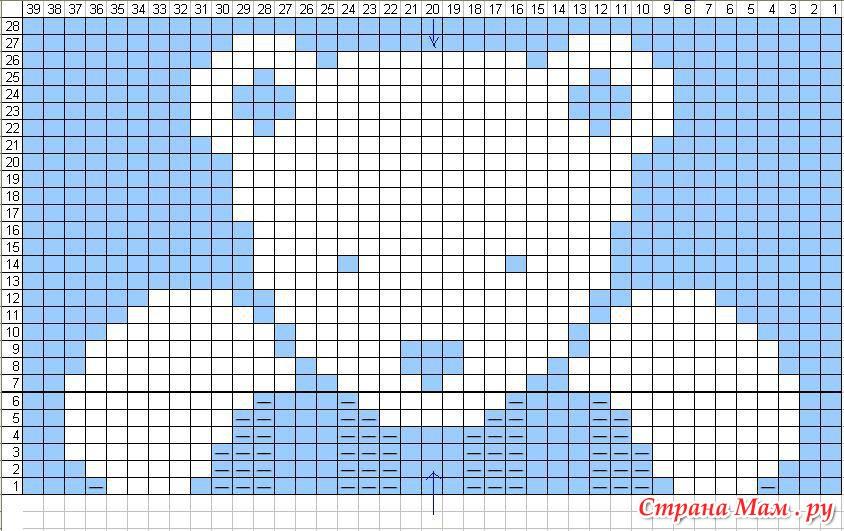 Аппликации для вязания спицами схемы и описание для детей