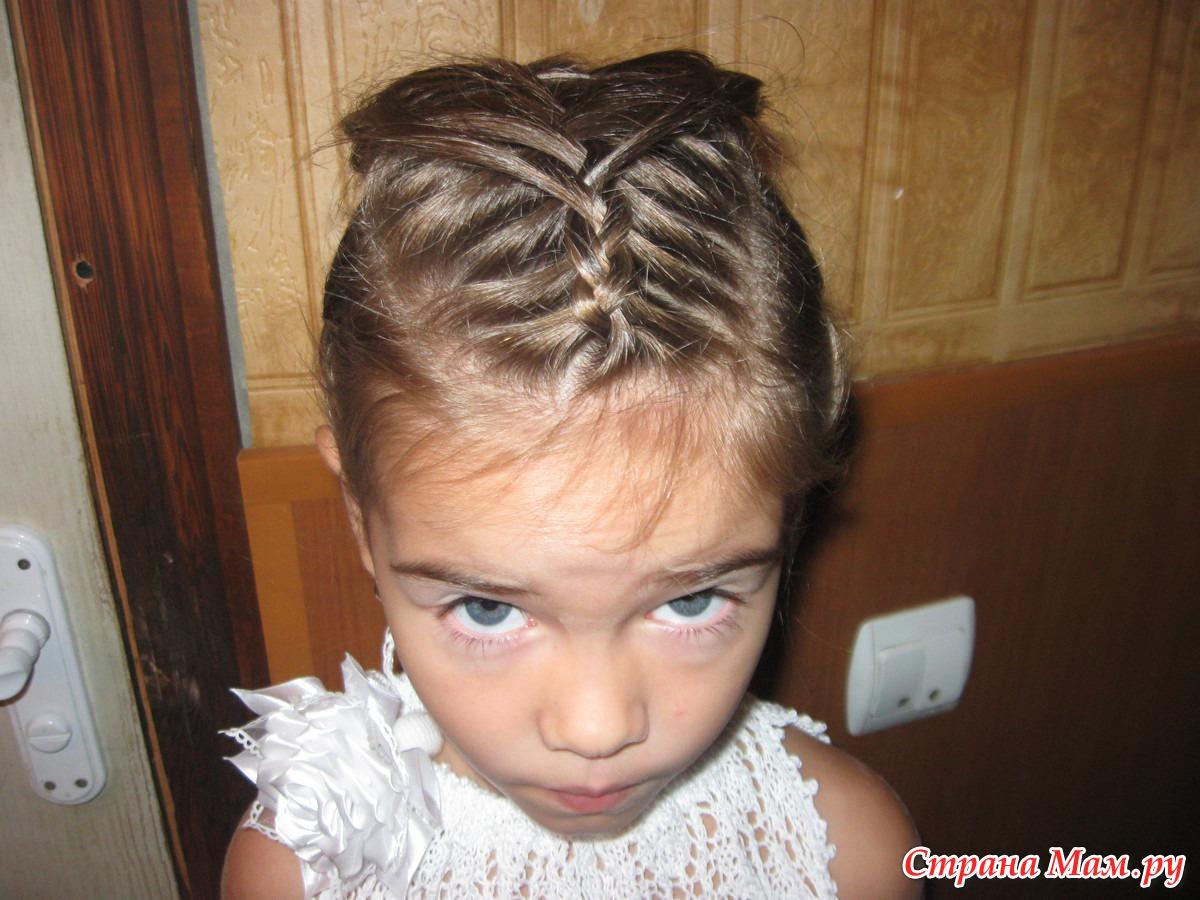 Прически для малышей с короткими волосами фото