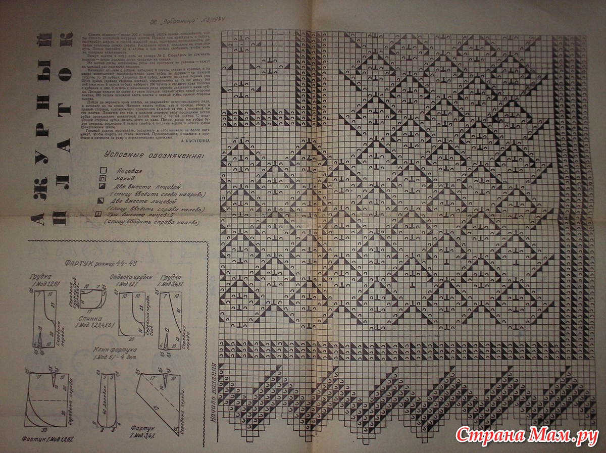 Оренбургский платок схемы вязания крючком