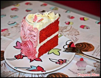 Рецепт очень вкусного торта с мастикой