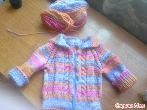 вязание кофточки для мальчика 4 5