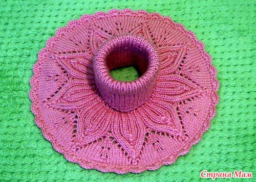 Вязание для девочек беретка