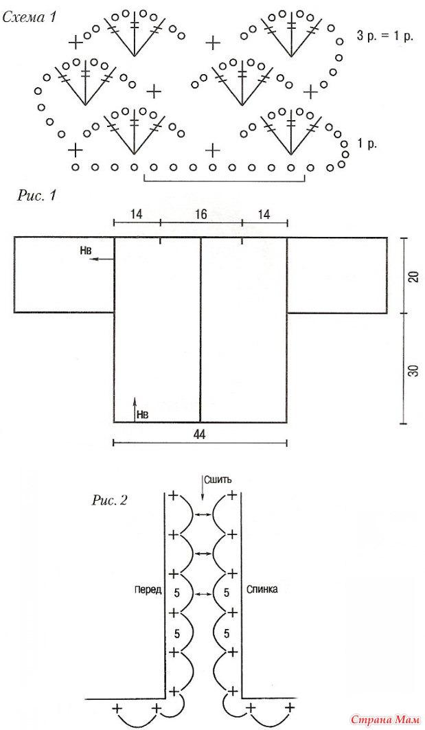 Кардиган ажурный 56-58 размера