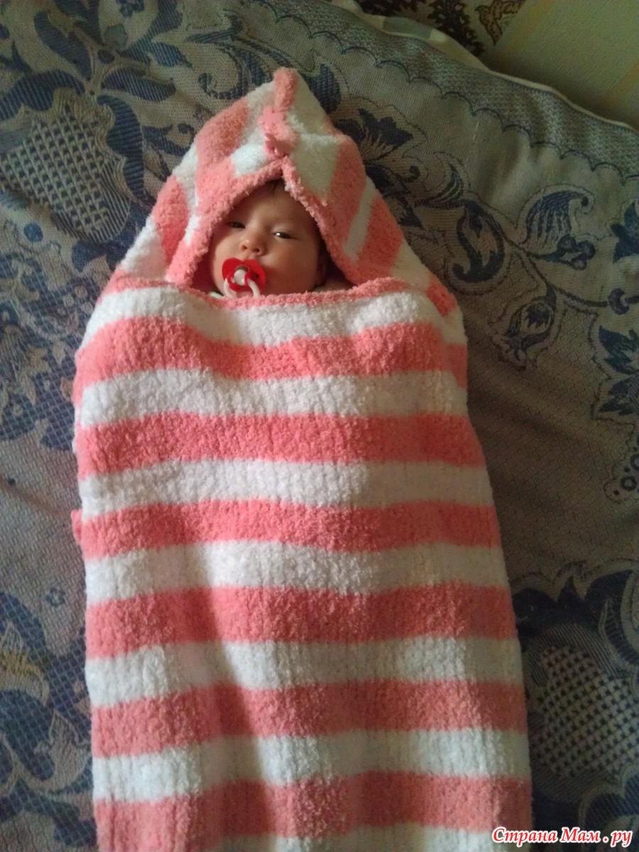 Спальники для новорожденных связать 185