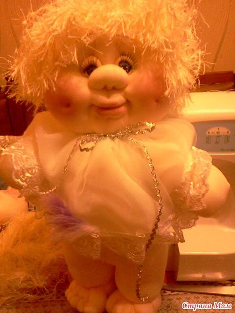 Куклы своими руками синтепон 80