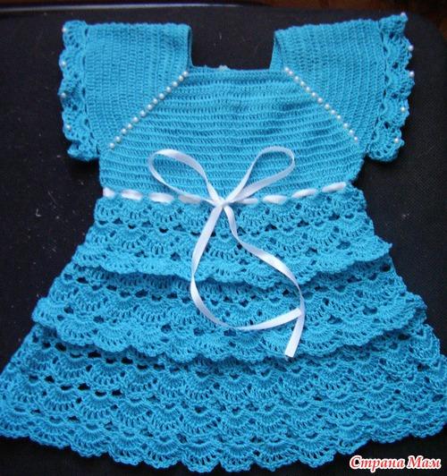 Вязание для девочки до года из ниток ирис 35