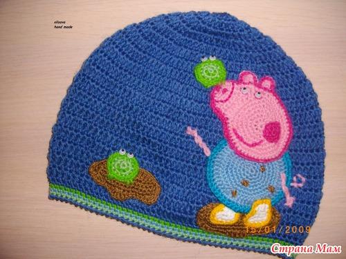 вязание крючком игрушка свинка пеппа со схемой и описанием