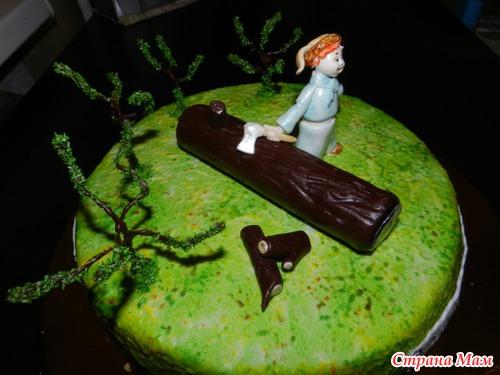 Торты русский лес зеленоград фото