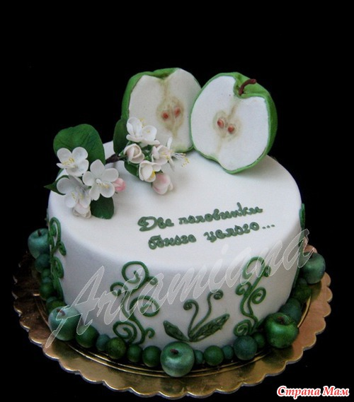 Украшение торта на, «день Рождения»