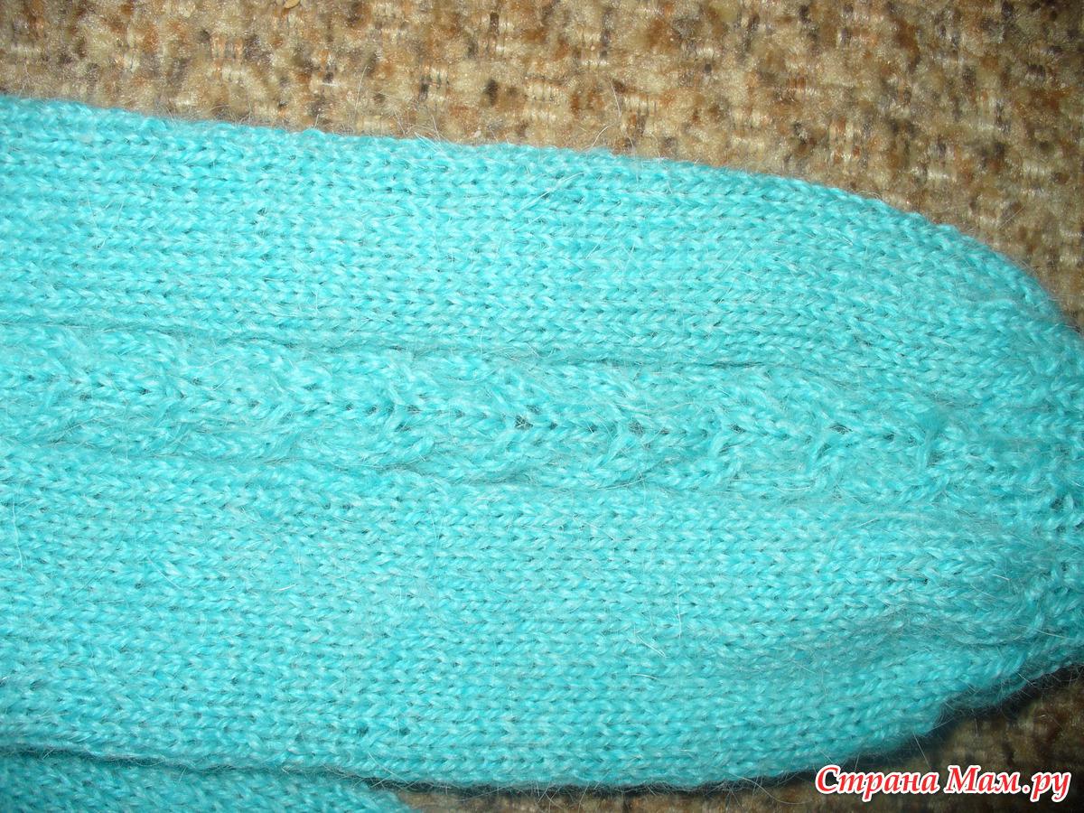 Как связать спицами штанишки для малыша 30