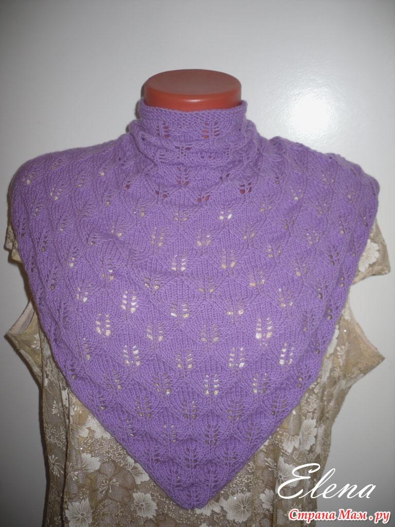 Детские косыночки вязание