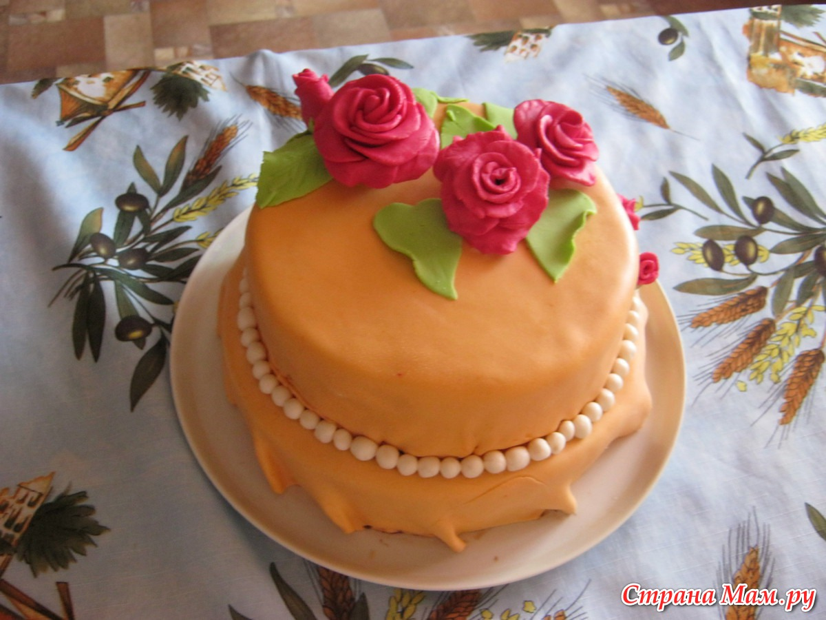 Рецепт торта на день рождения маме с фото своими руками