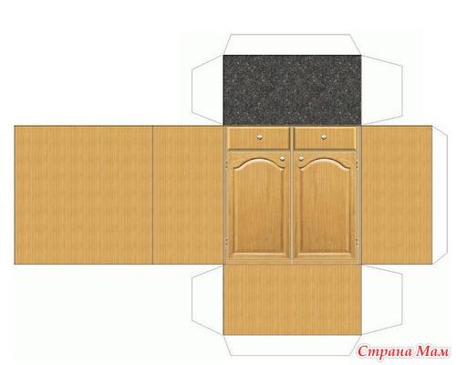 Как сделать из картона и бумаги мебель