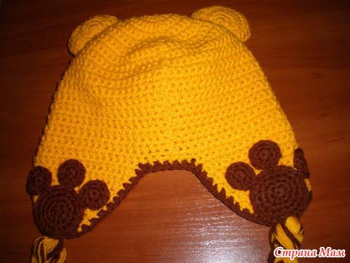 Предлагаю Вашему вниманию, все мои шапочки связаны мной в разное время По этой схемке можно связать шапочку крючком.