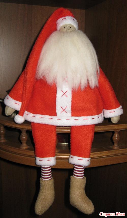 Дед мороз своими руками шить