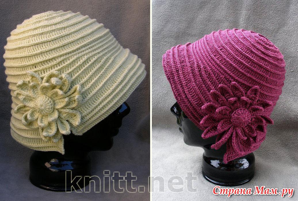 Вяжем шляпу крючком