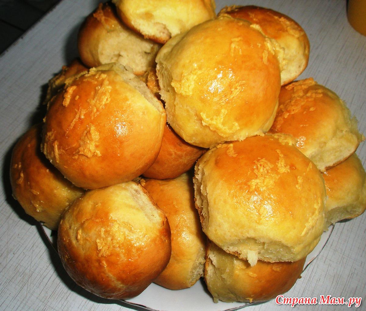 Пампушки к борщу с чесноком пошаговый рецепт с фото
