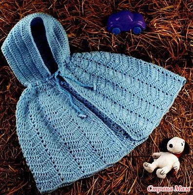 Вязание накидка для детей