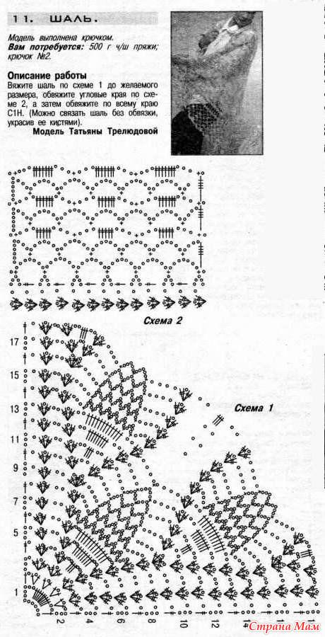 Схемы вязания спицами крючком мода и многое другое