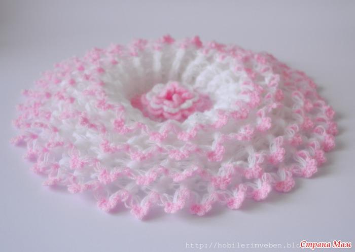 Вязание воздушные цветы