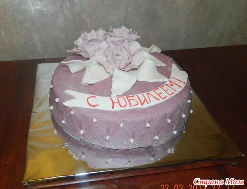 Тортик к юбилею фото