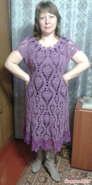 Вот и я выставляю свое платье,