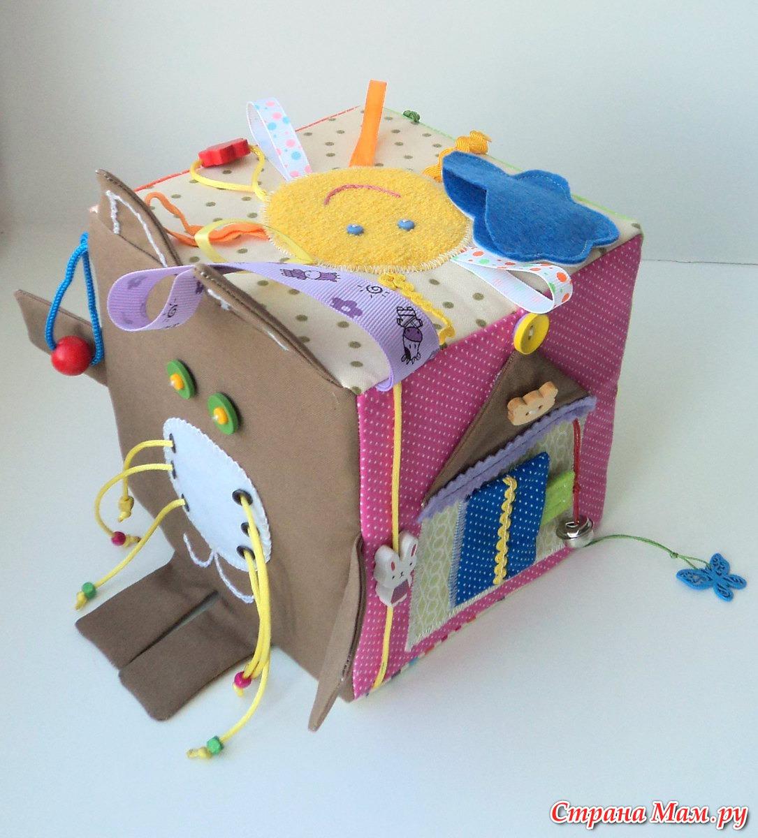 Кубик для новорожденных своими руками 19
