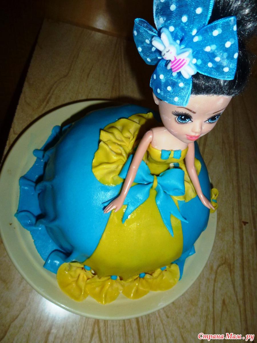 Рецепт мастики для торта с куклой в домашних условиях фото