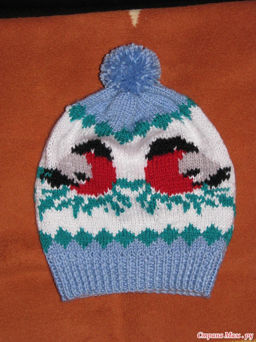 Вышивка на шапках самому