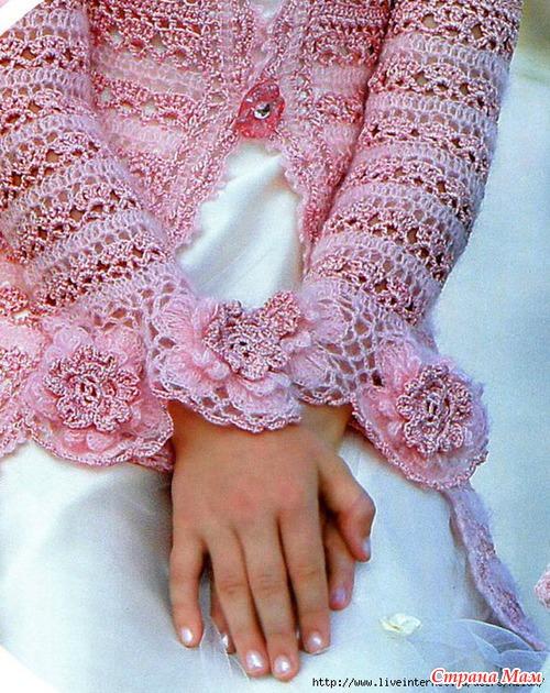 Как связать платье для детей от годика