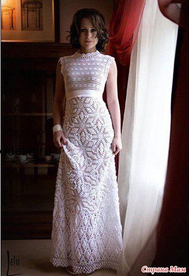 Как я сшила платье на венчание