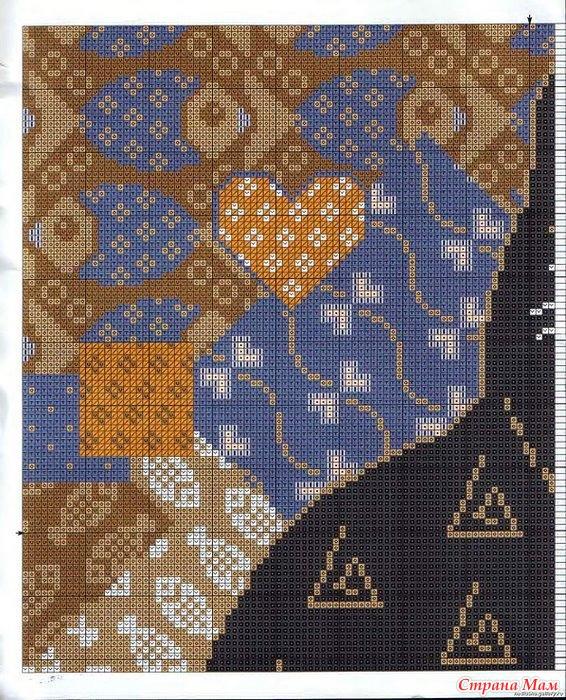 Схемы вышивки для подушек от