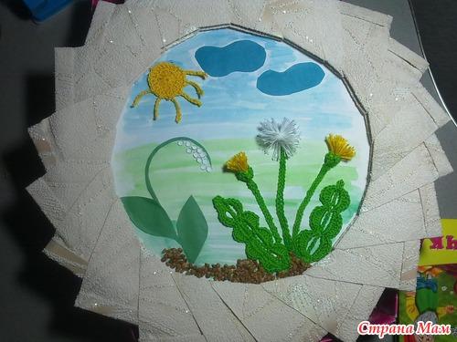 Поделки весенние своими руками в детском саду фото