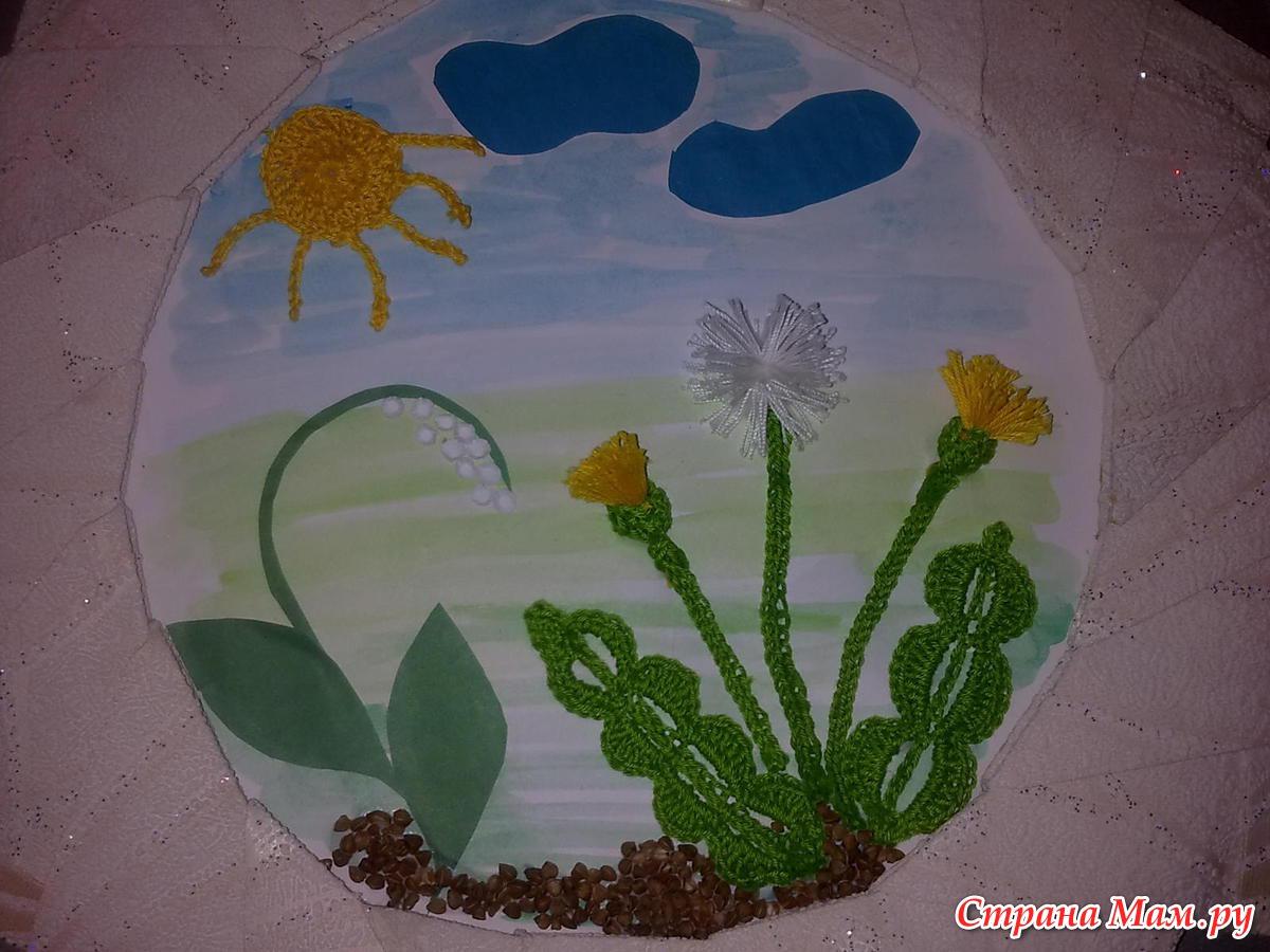 Детские поделки к весне в детском саду
