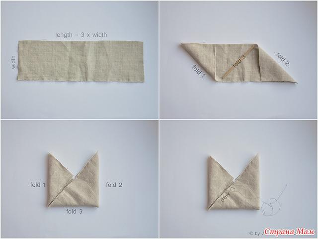 Сумочки из ткани. выкройки