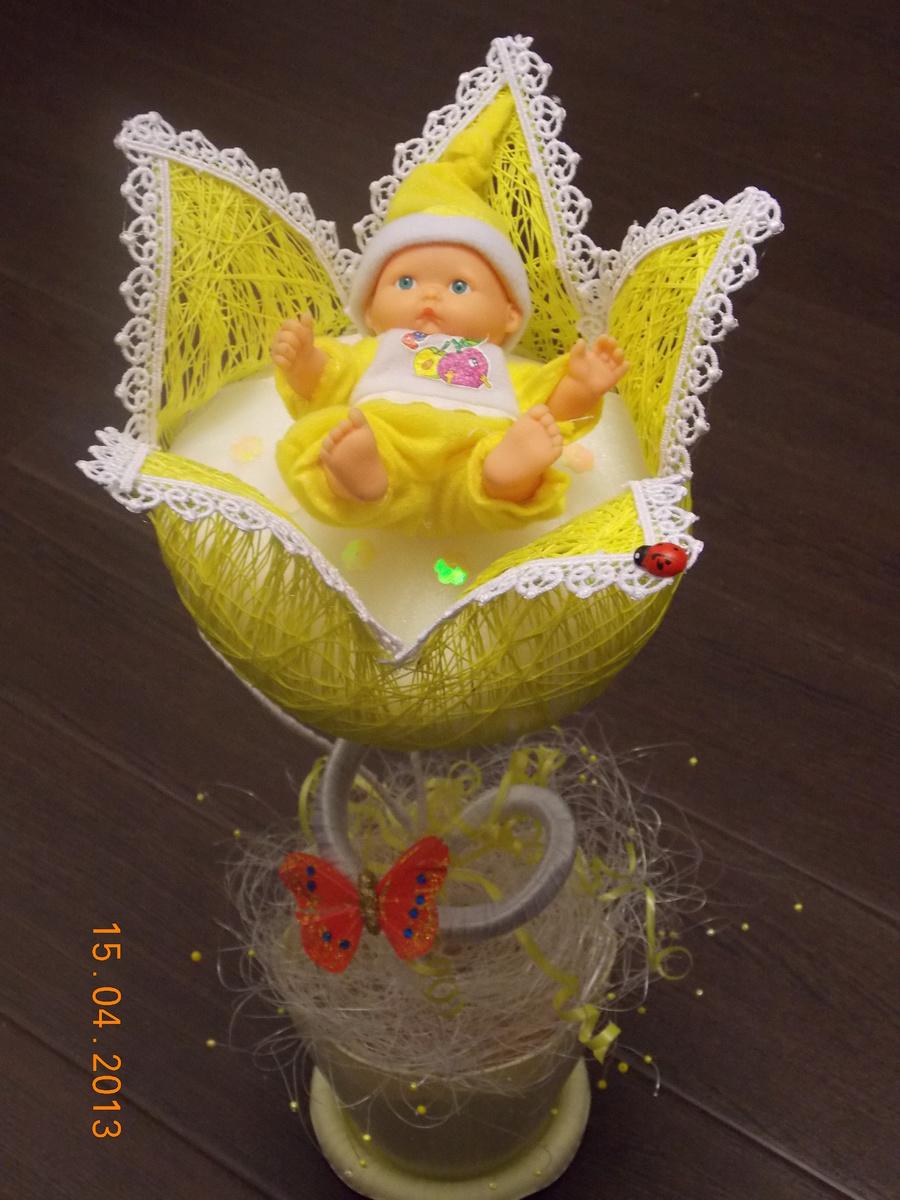 Подделки для новорожденных своими руками