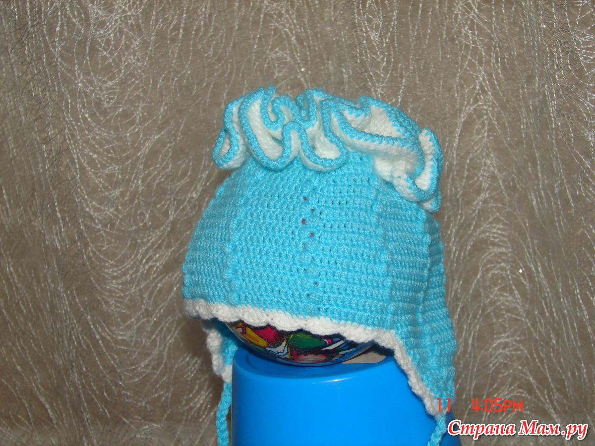 Мастер класс вязания шапочки