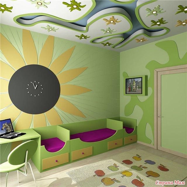 Дизайн детских комнат. - Страна Мам